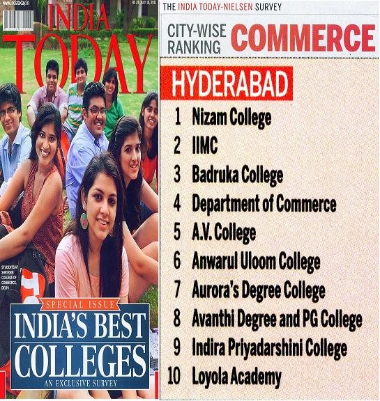 India Today: India's 50 Best  Colleges